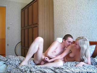 Rubdown before hookup